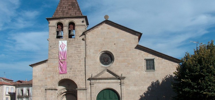 Mother Church of Santa Maria Maior, in Chaves