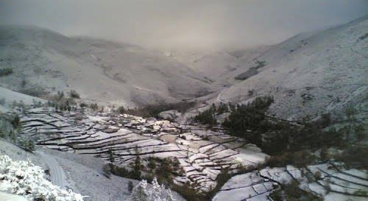Mafómedes Village, in Marão Mountain Range